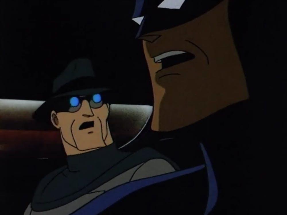 batman animated series : beware the grey ghost