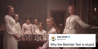 Male critic criticizes Bechdel Test within the context of 'The Beguiled'