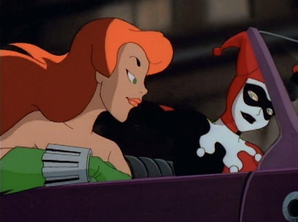 batman animated series : harley quinn and ivy