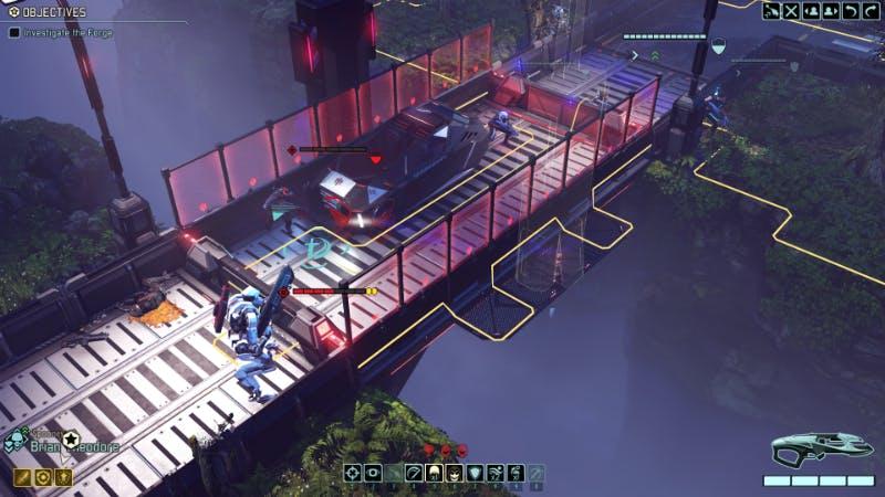 XCOM faces off against a deadly, alien mech.