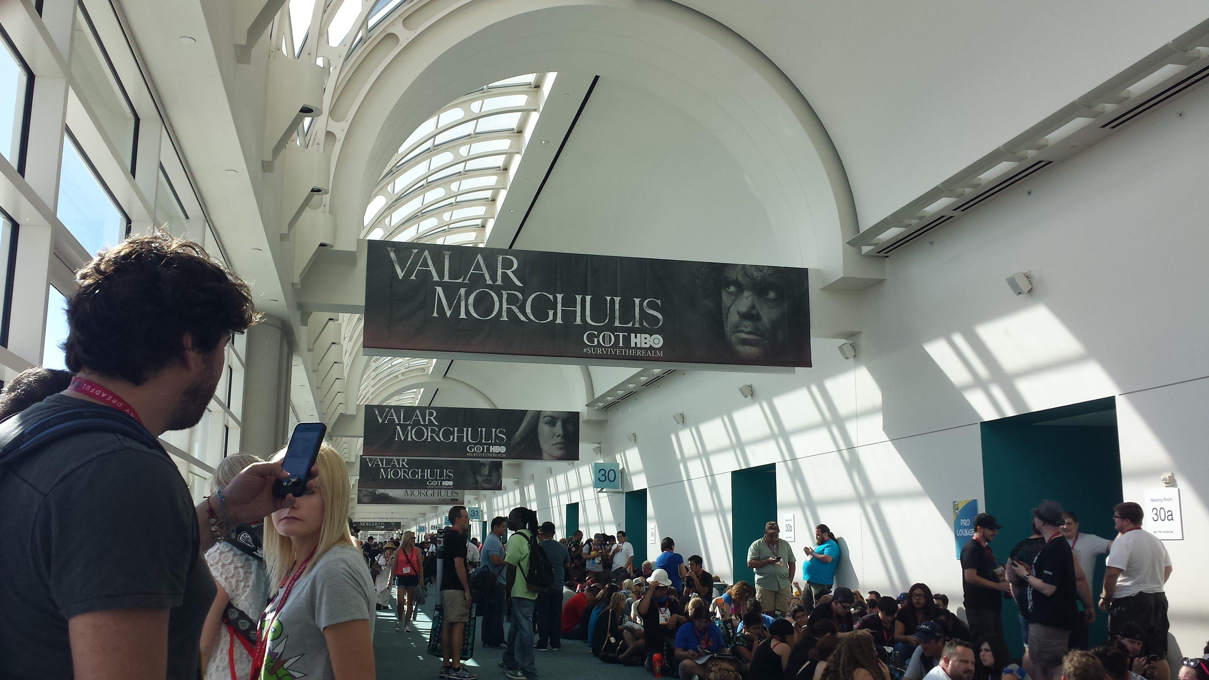 Warner Bros. pilot premiere event Comic-Con 2014