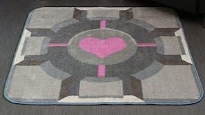 companion cube rug