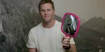 Tom Brady Madden 18 curse mirror