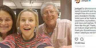 Kristen Bell Josh Gad parents