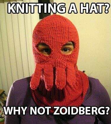 futurama memes : why not zoidberg hat