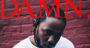 kendrick lamar damn meme: album cover depicting kendrick