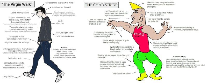 new memes : virgil vs chad