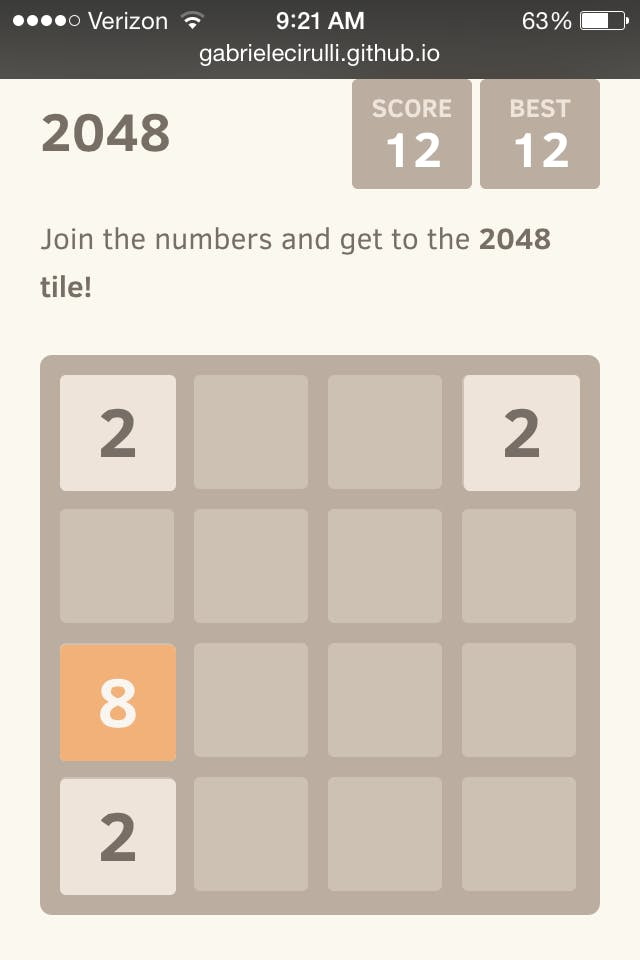 strategy for 2048