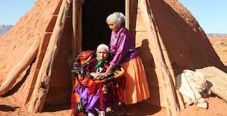 Navajo women eclipse