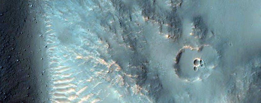 """""""Crater in Hesperia Planum"""""""