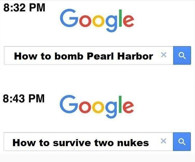pearl harbor google meme