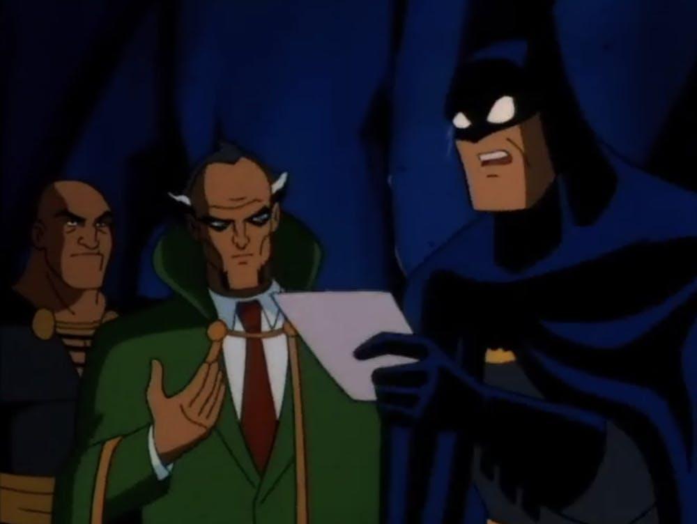 batman animated series : the demon's quest