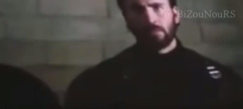 chris evans captain america beard