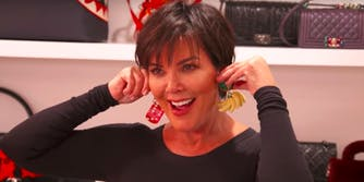 Kris Jenner gets earlobe reduction surgery.