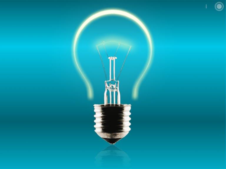 best flashlight apps: Tiny Flashlight + LED