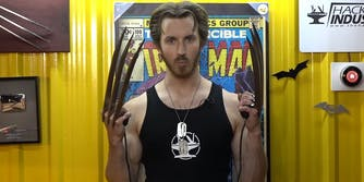 Hacksmith electrified Wolverine claws