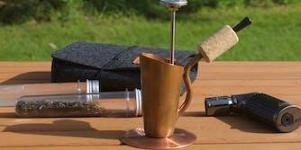 bripe coffee brewing pipe