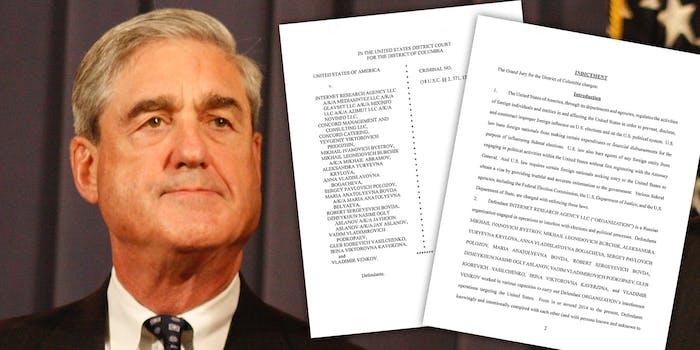 Robert Mueller and Russian indictments