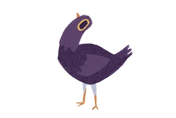 best memes of 2017: Purple Dove