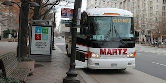 Washington D.C. bus stop Ryan McAvoy