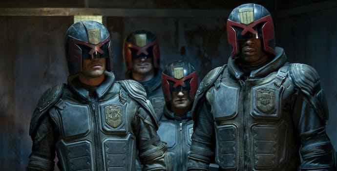worst movies on netflix : Judge Dredd