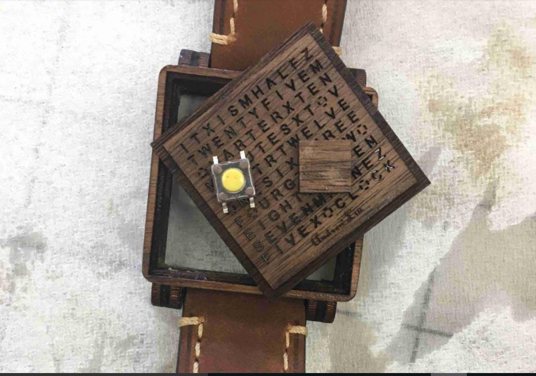 wood word watch