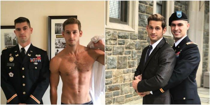 Army prom gay hot dudes