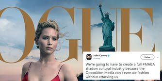 Jennifer Lawrence Statue of Liberty Vogue cover