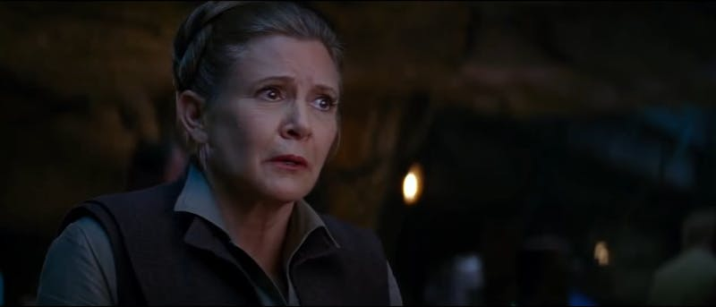 Carrie Fisher to appear in Star Wars: Episode IX