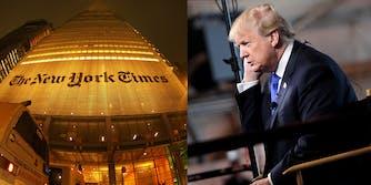 New York Times Donald Trump