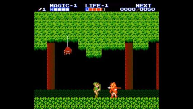 nes games: The Legend of Zelda II: The Adventure of Link
