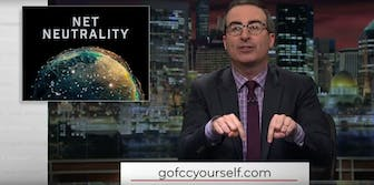 John Oliver is rallying the internet to save Net Neutrality - again.