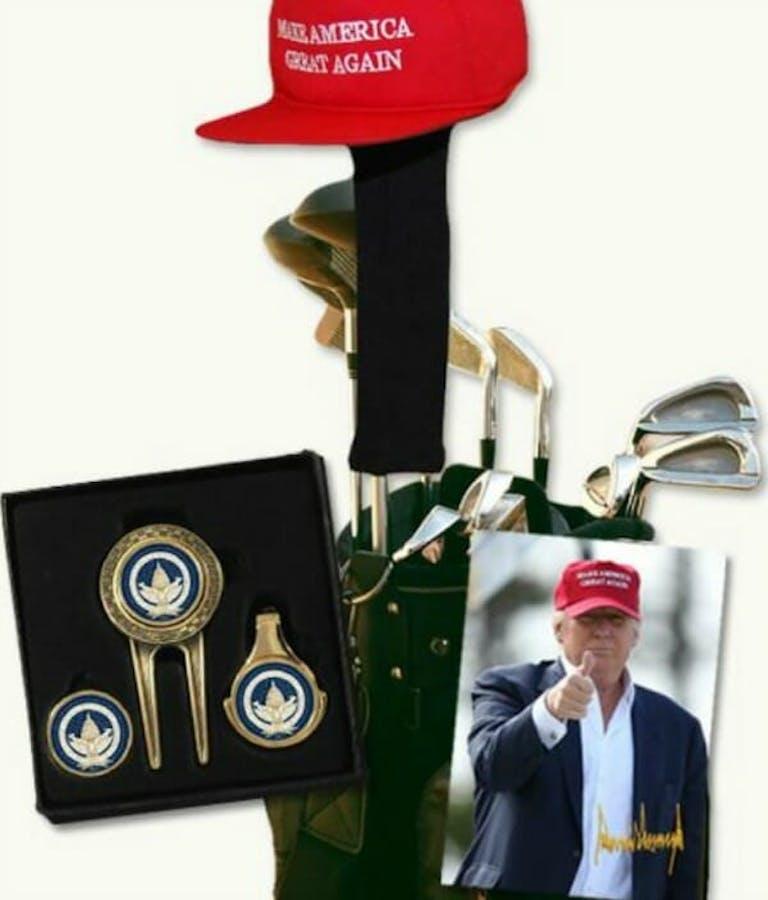 Donald Trump golf bundle