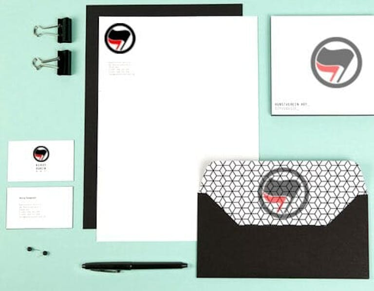antifa head office official stationary