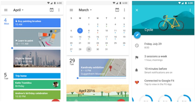 Best Android Apps: Google Calendar