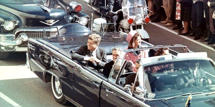 download JFK assassination files