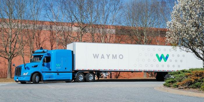waymo self-driving autonomous truck