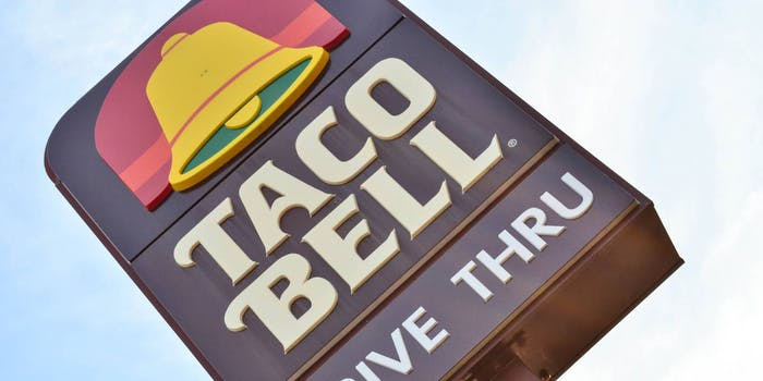 Taco Bell test kitchen OpenTable reservations