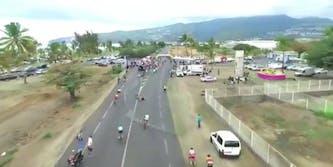 cycling crash