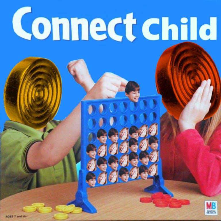 connect child connect four meme