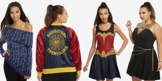 DC Comics and Her Universe Wonder Woman clothing line