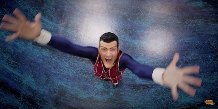 robbie rotten we are number one - now cancer free