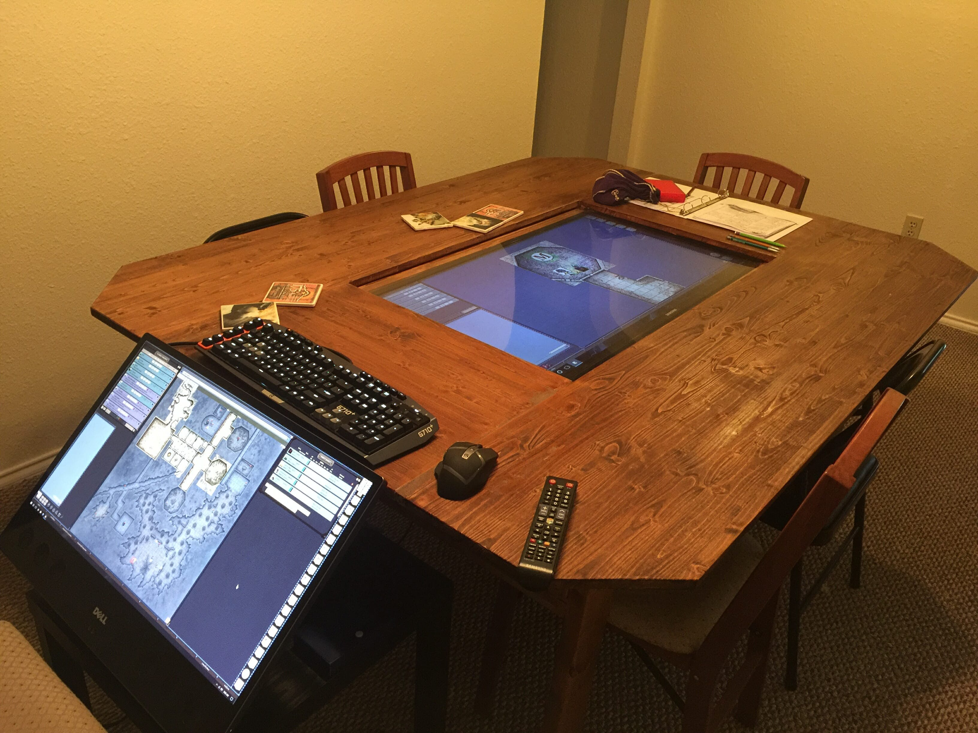 dungeons dragons table