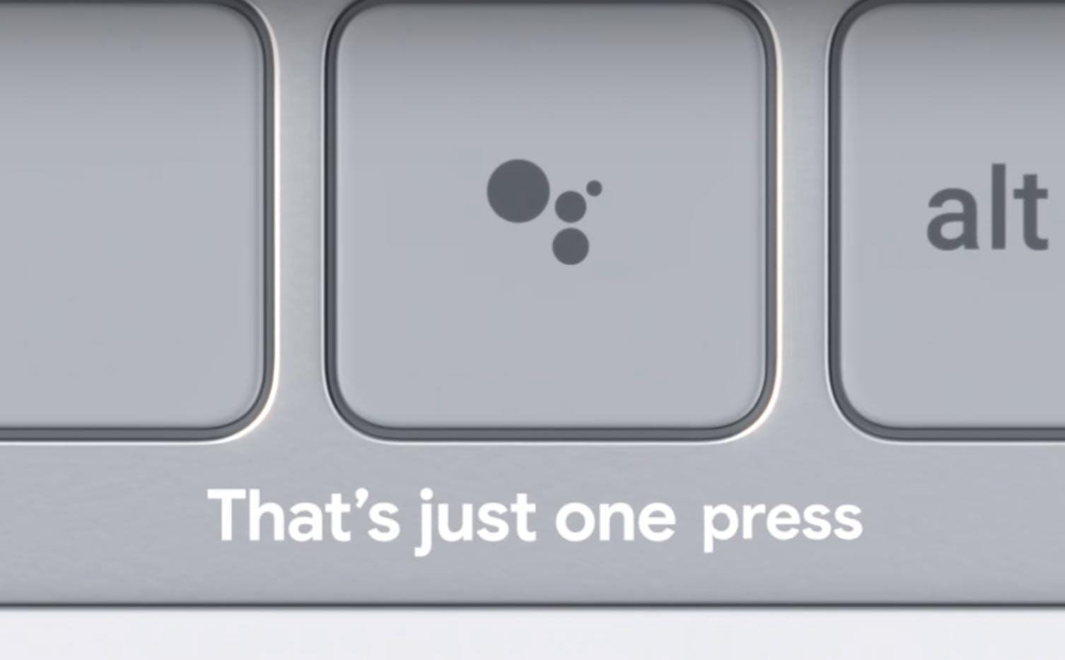 google pixelbook keyboard assistant