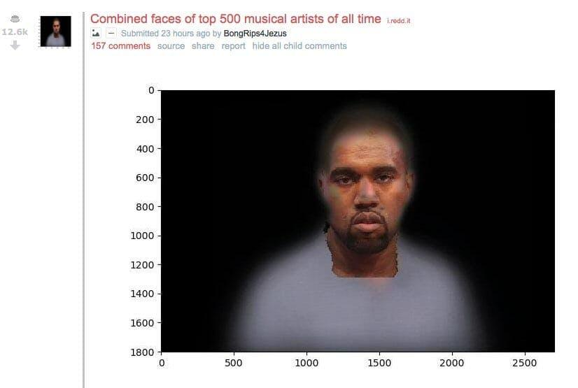 kanye west 500 faces meme
