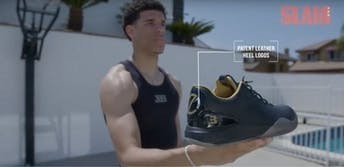 lonzo ball introduces shoes
