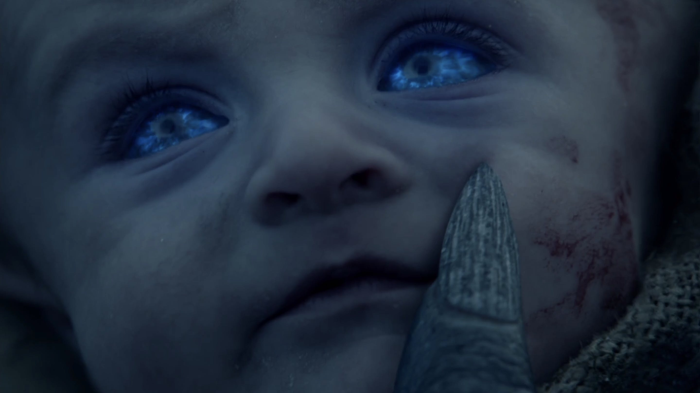 night king game of thrones baby