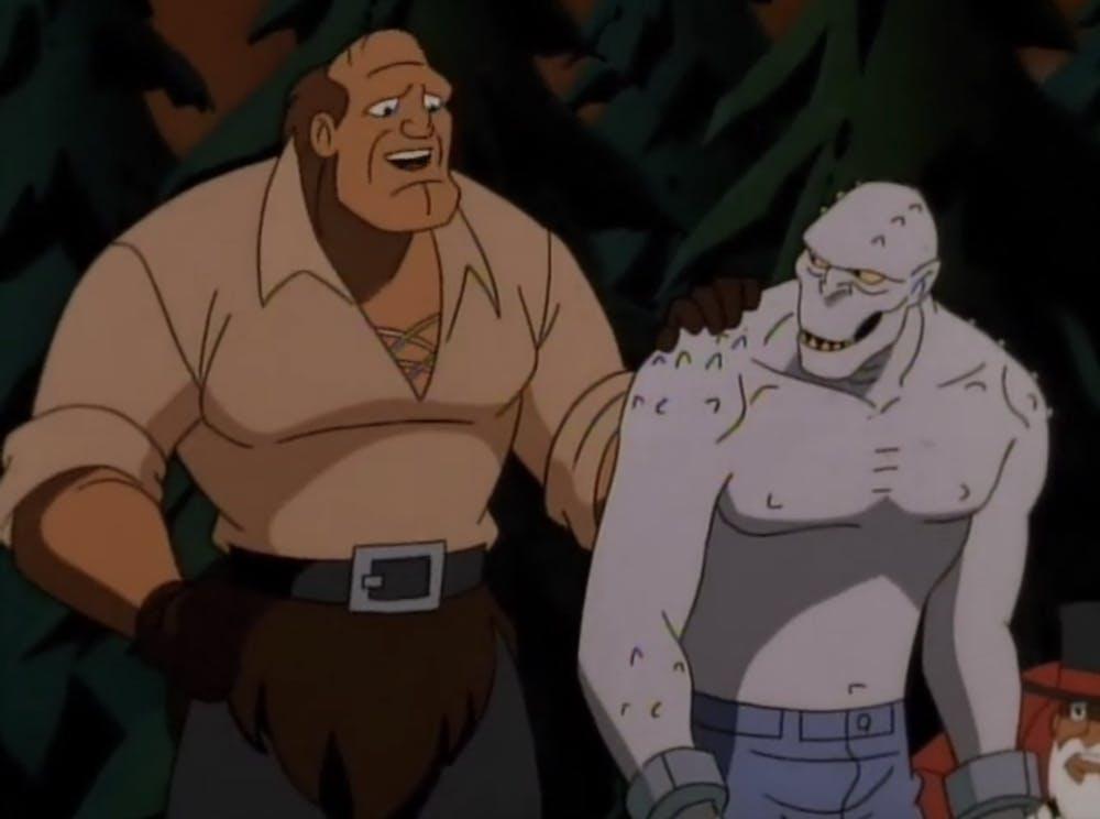 batman animated series : sideshow