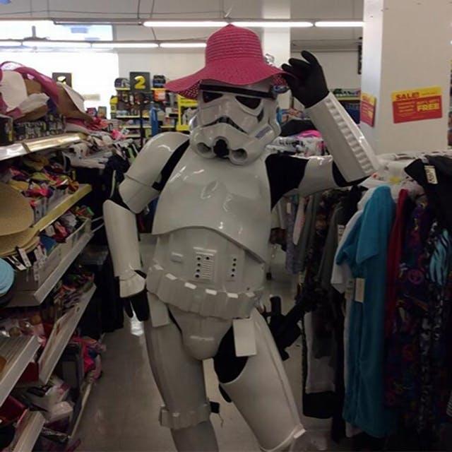 Stormtrooper Sam, Kansas