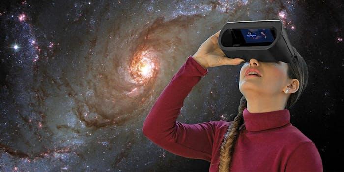 Personal Augmented Reality Planetarium